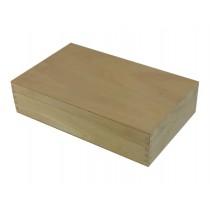 Holzkassette, Geschenkkiste geschlossen