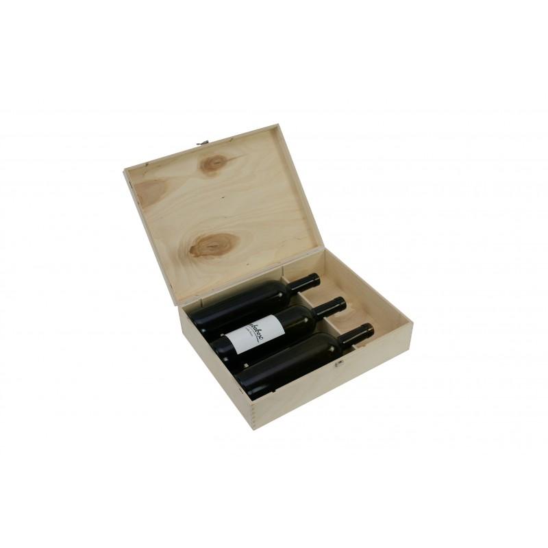 Schnapskiste, Holzkiste, Holzkassette, Weinkiste
